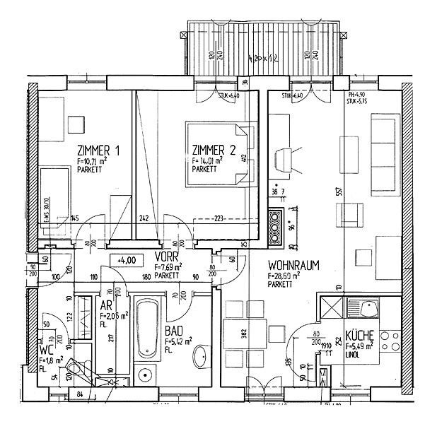 Immobilie von LAWOG in Udo-Block-Hof 2 Stge 2/4, 4462 Reichraming #1