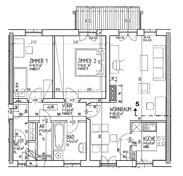 Immobilie von LAWOG in Udo-Block-Hof 2 Stge 2/6, 4462 Reichraming #1